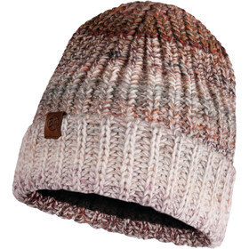 Buff Lifestyle Knitted and Polar Fleece Hat olya grey